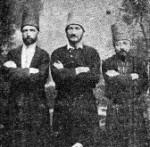 Drei Mevlevi-Derwische