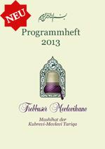 Das Programmheft der Trebbuser Mevlevihane für das Jahr 2013