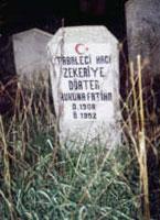 Grab von Hazrat Zekeriya Efendi