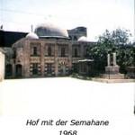Hof mit der Semahane 1968